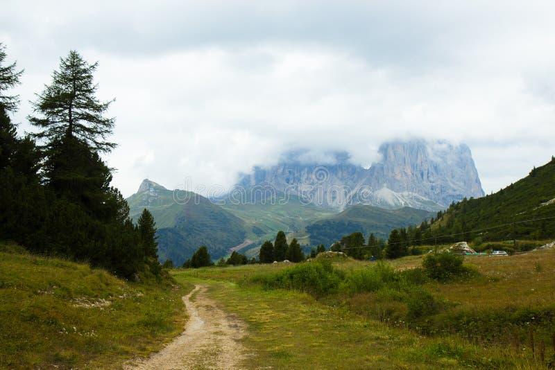 Sch?ne Ansicht von Dolomit-Alpen, Italien stockbilder