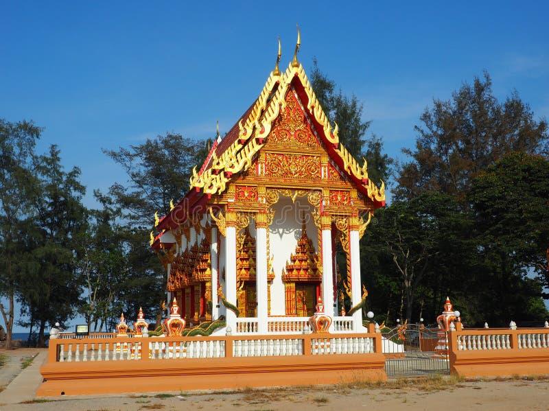 Sch?ner Tempel gebadet im Nachmittagslicht lizenzfreies stockbild