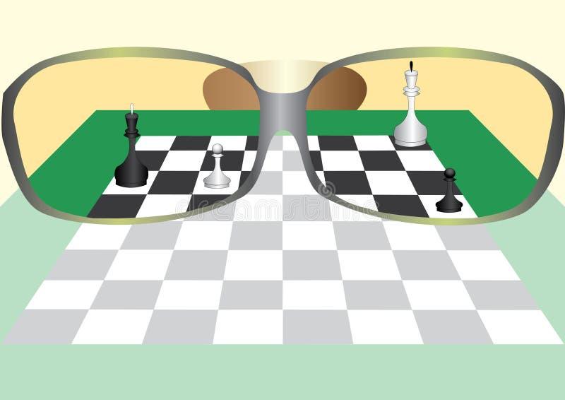 Download Schaak vector illustratie. Illustratie bestaande uit koning - 10780223