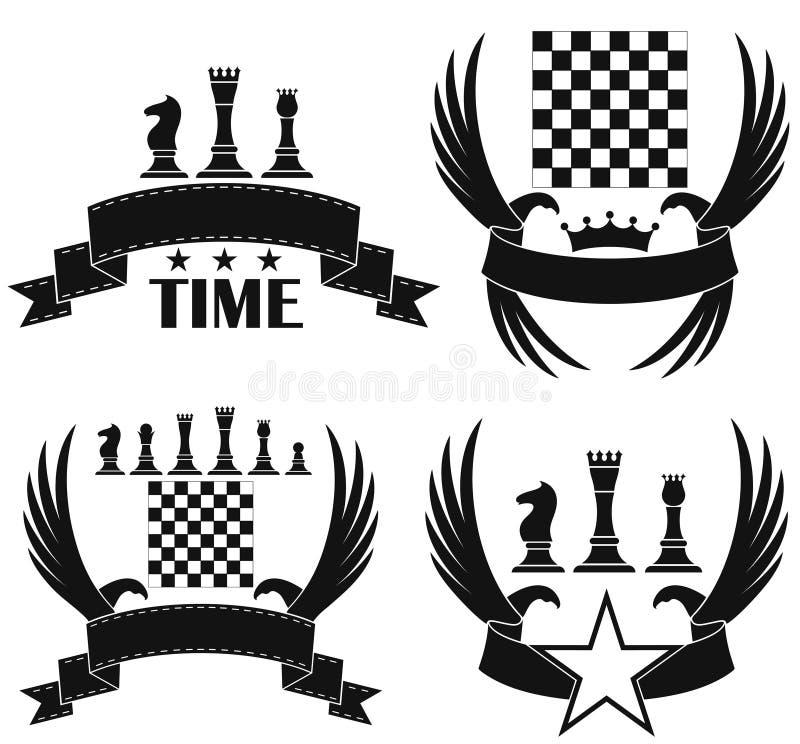 Schaak royalty-vrije illustratie