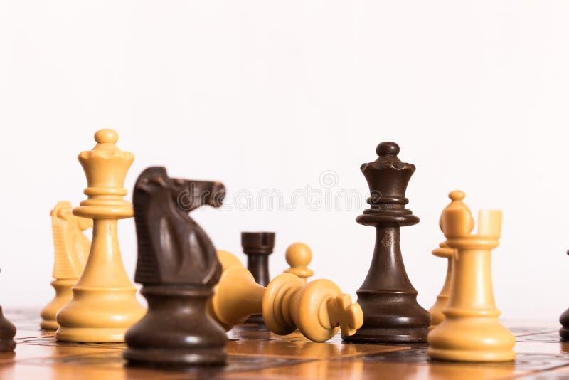 Schaak royalty-vrije stock afbeeldingen