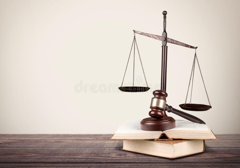 Schaal, wet, advocaat royalty-vrije stock afbeelding