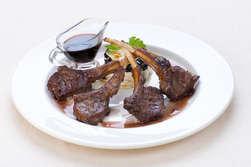 Schaaplapje vlees royalty-vrije stock foto