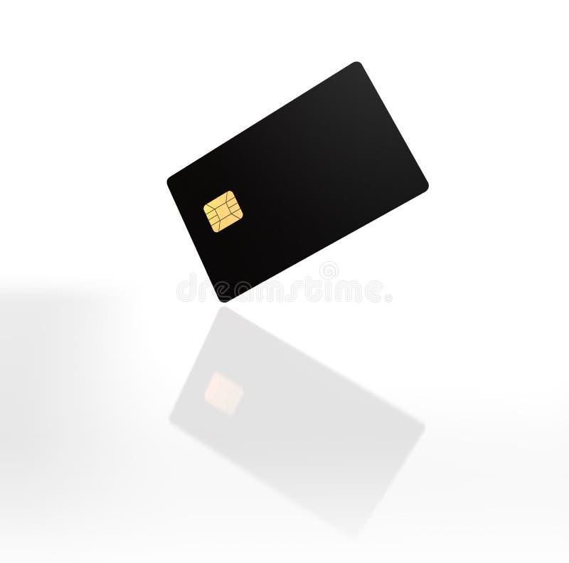 Schablone 3d des Bank-Kreditkarte-Modell-freien Raumes übertragen vektor abbildung