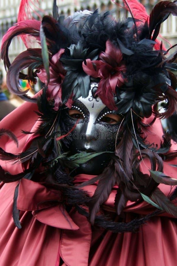 Schablone - Karneval - Venedig - Italien stockfoto