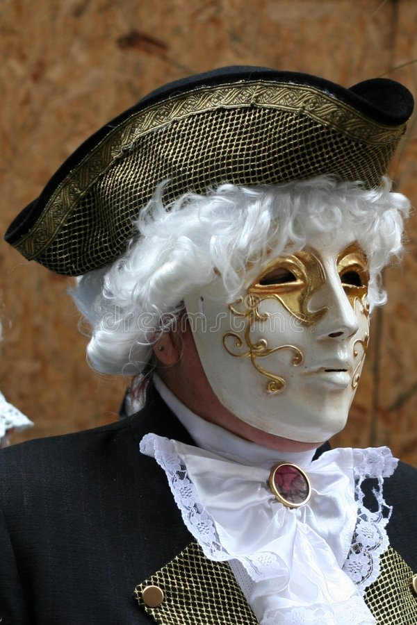 Schablone - Karneval - Venedig - Italien lizenzfreies stockfoto