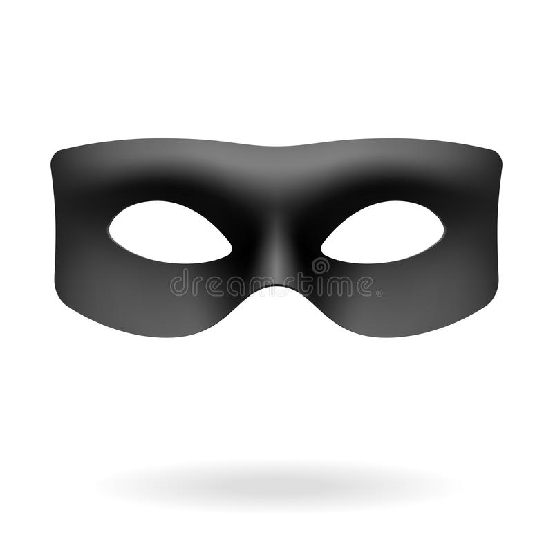 Schablone von Zorro vektor abbildung
