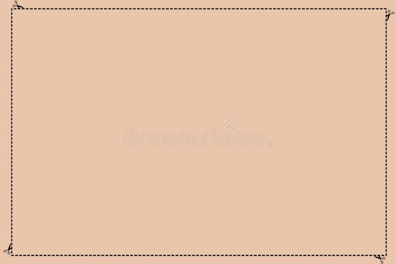 Schablonenkopien-Raumtext des Entwurfsgeschäftskonzeptes stürzte leerer für die Anzeigenwebsite lokalisiert gebrochen geschnitten stock abbildung