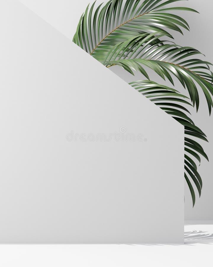 Schablonensatz des Abdeckungsentwurfs A4 mit weißem Hintergrund, moderne unterschiedliche Art eco Zusammenfassung für Dekorations vektor abbildung