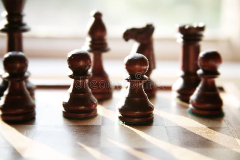 Download Schach stockbild. Bild von vorstand, geschnitzt, taktiken - 852679