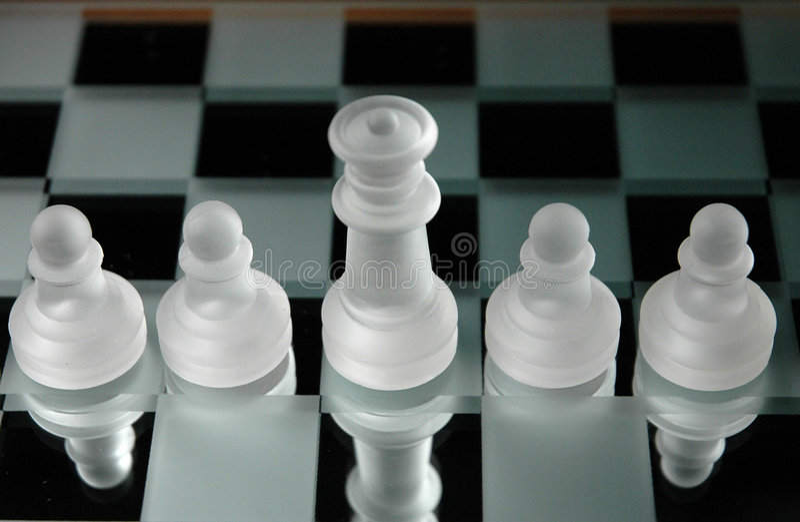 Schach pieces-13 stockfotografie