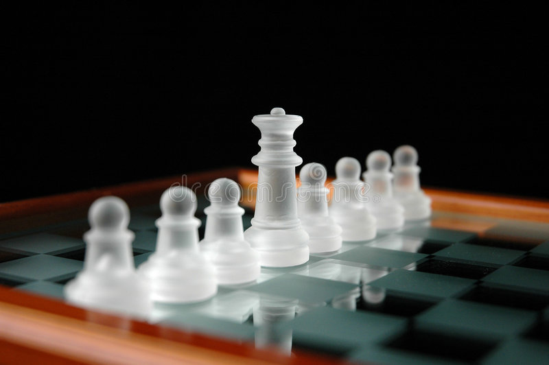 Schach pieces-14 stockbild