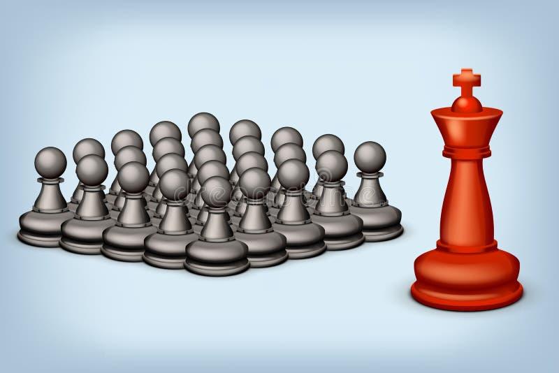 Schach SS lizenzfreie abbildung