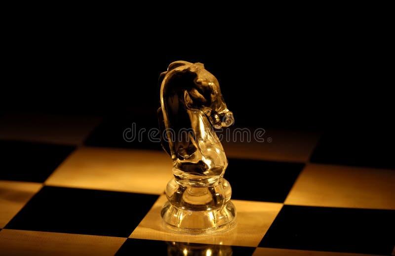 Schach-Stück lizenzfreie stockfotos