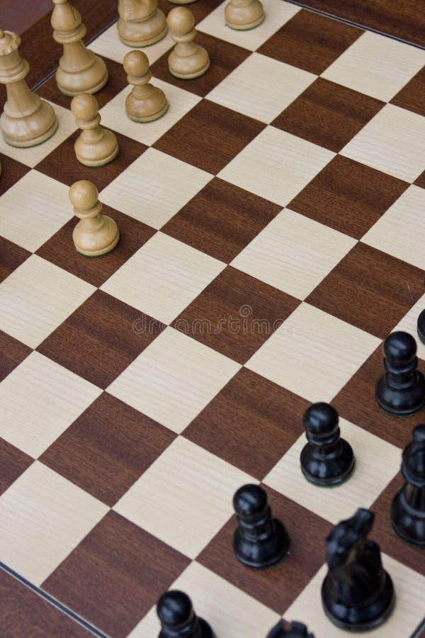 Schach-Vorstand stockfotografie