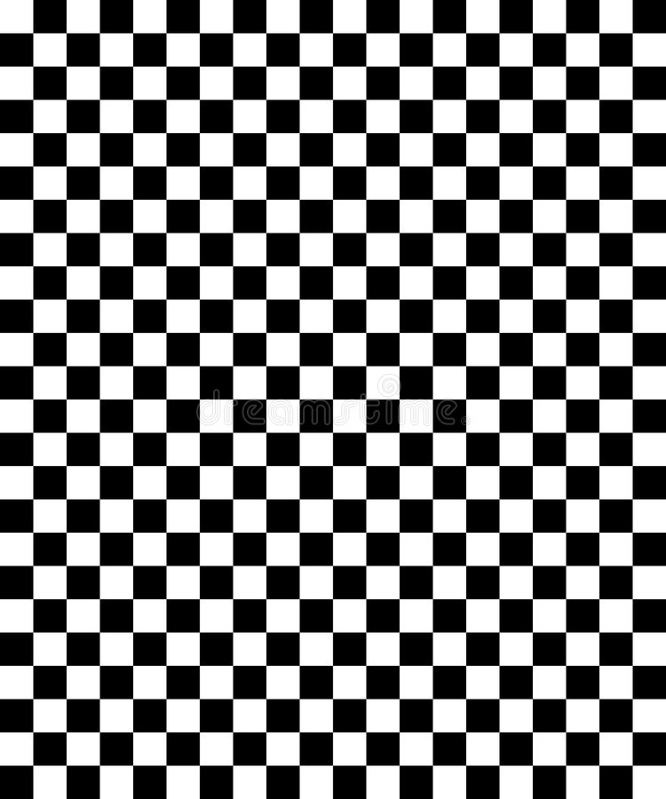 Schachbretmuster 01 stock abbildung