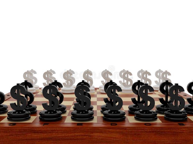 Schachbrett lizenzfreie abbildung