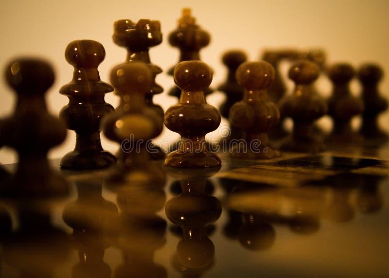 Schachbrett lizenzfreie stockfotos