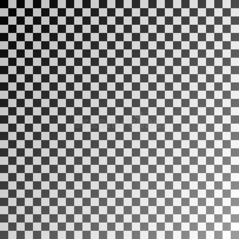 Schachbrett stock abbildung