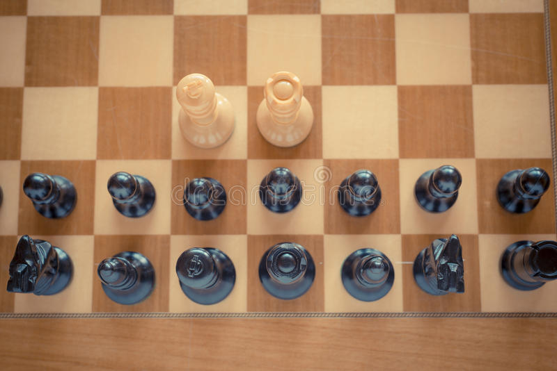 Schachbrett lizenzfreies stockfoto