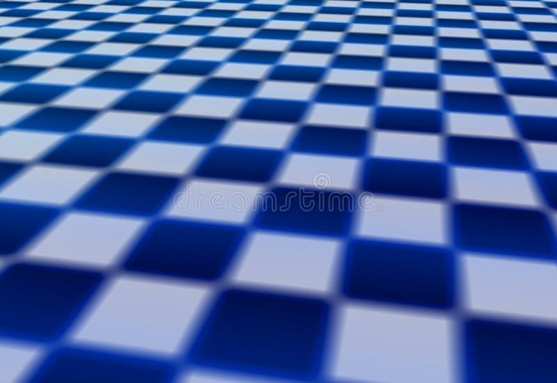 Schachbrett-Hintergrund lizenzfreie abbildung
