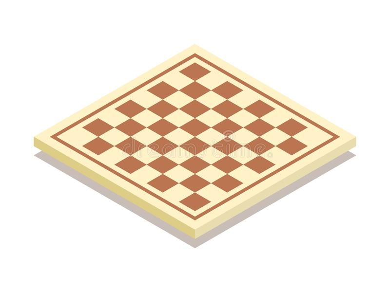 Schachbrettikone Auch im corel abgehobenen Betrag lizenzfreie abbildung
