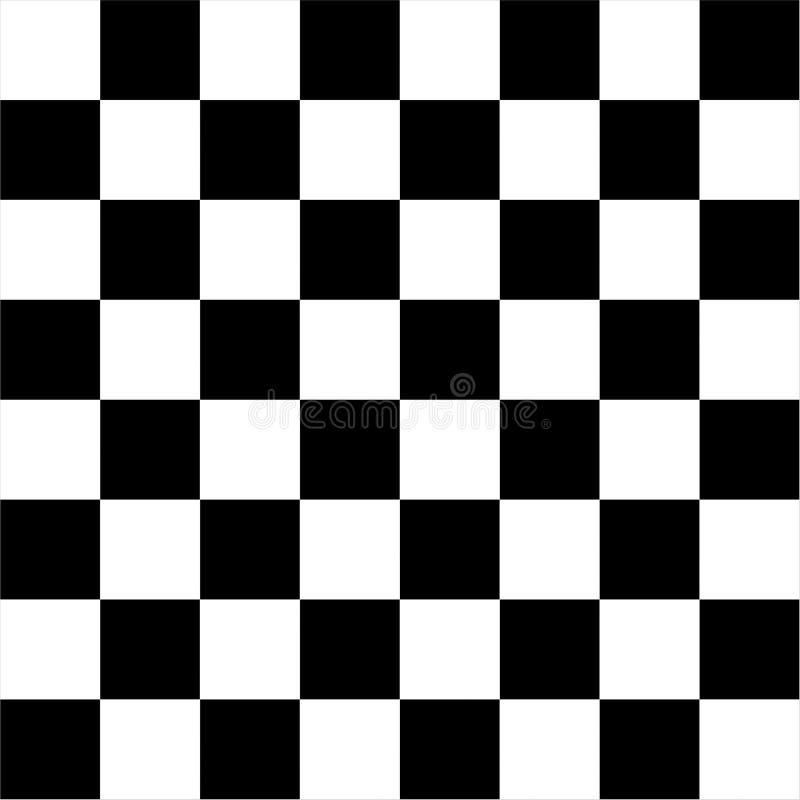 Schachbrettkontrolleurflagge lizenzfreie abbildung