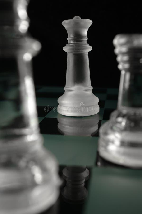 Schachkönigin lizenzfreie stockbilder