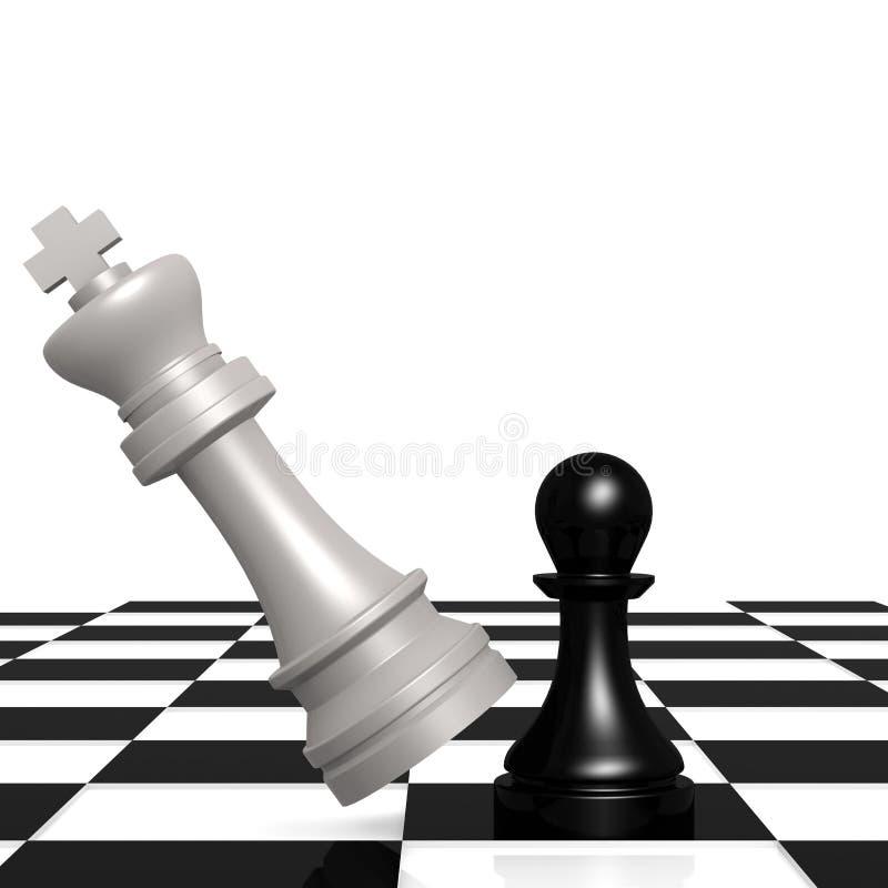 Schachkontrolleur vektor abbildung