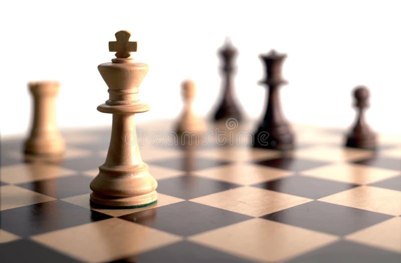 Schachspiel lizenzfreies stockfoto