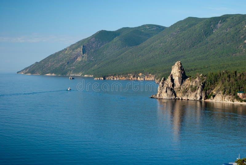 Schacht von See Baikal stockbild