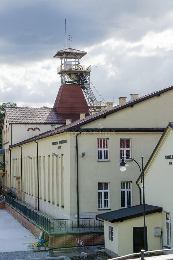 Schachtmijn stock afbeelding