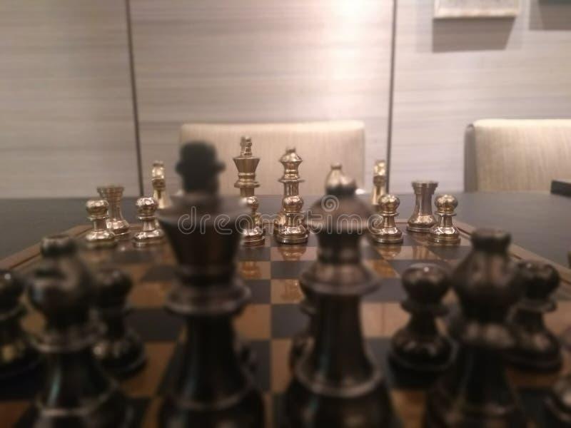 Schack är modigt arkivbilder