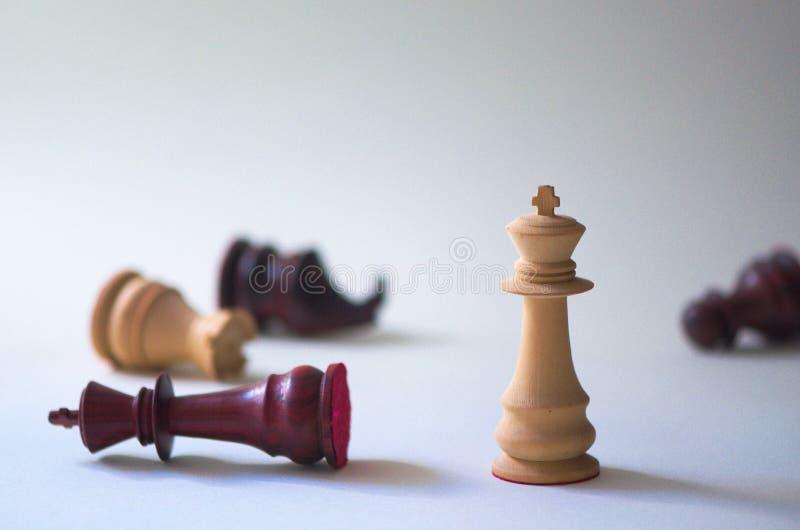 schack skjutit av schack dagsljus och bokeh arkivfoton