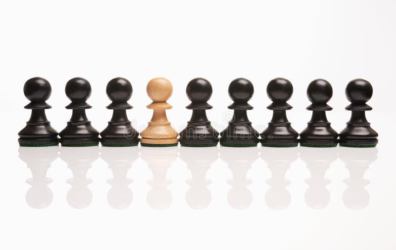 schack udda ut arkivbilder