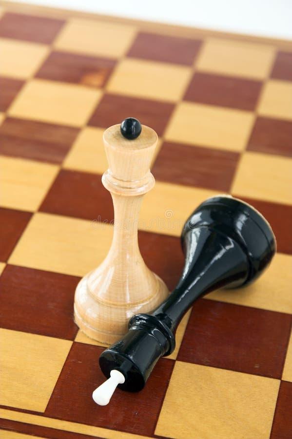 schackbegreppsström royaltyfria bilder