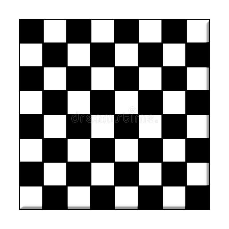 Schackbräde royaltyfri illustrationer