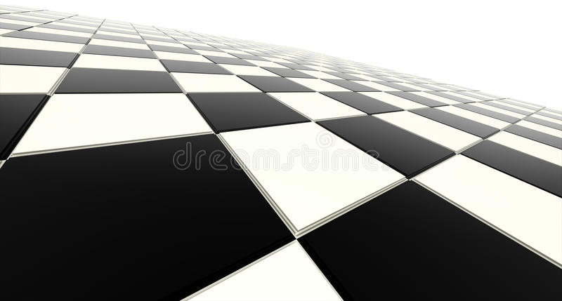 Schackbräde stock illustrationer