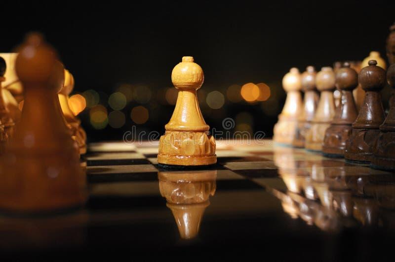 schackbräde 5 royaltyfri fotografi