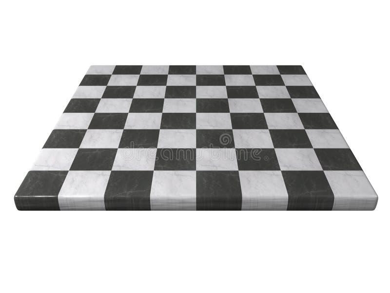 schackbrädemarmor vektor illustrationer