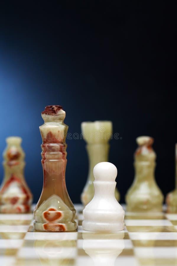 Schacket lappar ombord royaltyfria foton