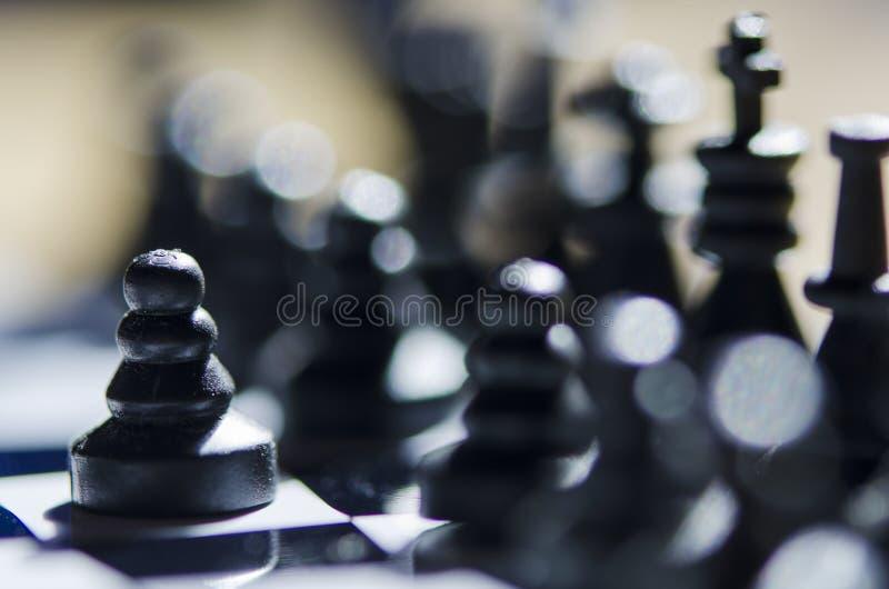 Schacket pantsätter royaltyfri foto