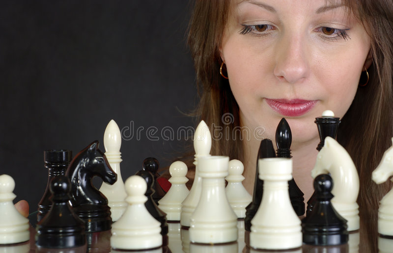 schacklady arkivbild