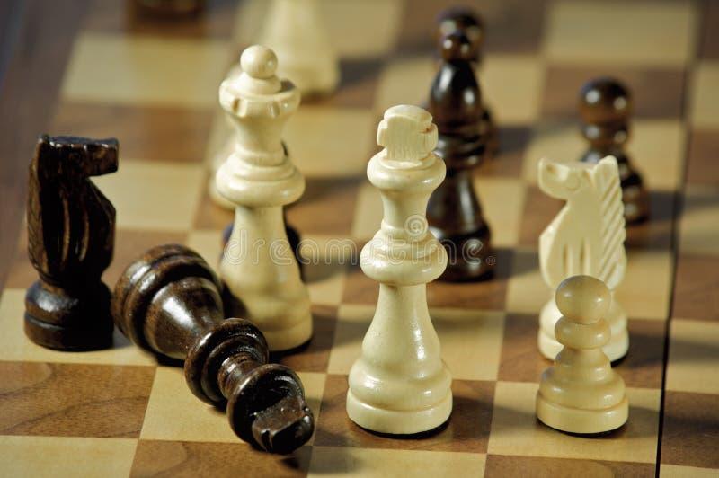 schackmatt royaltyfri foto