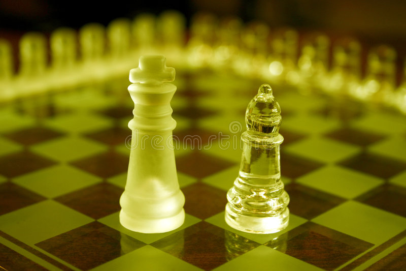 schacksets royaltyfri foto