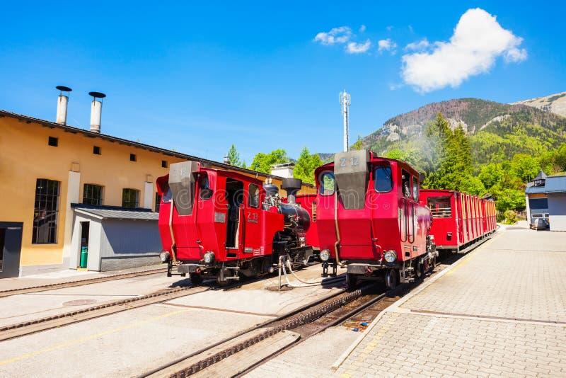 Schafberg铁路,圣沃尔夫冈 免版税库存照片