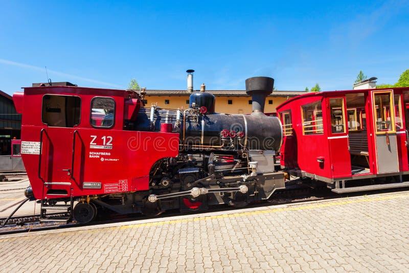 Schafberg铁路,圣沃尔夫冈 图库摄影