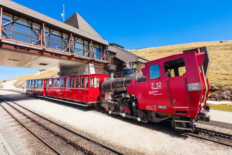 Schafberg铁路,圣沃尔夫冈 免版税库存图片