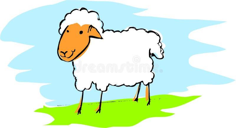 Schafe stock abbildung