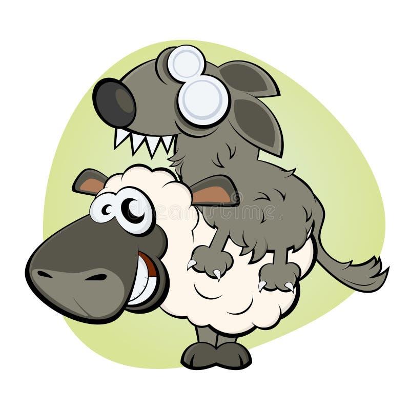 Download Schafe In Der Kleidung Des Wolfs Lizenzfreies Stockfoto - Bild: 24290705